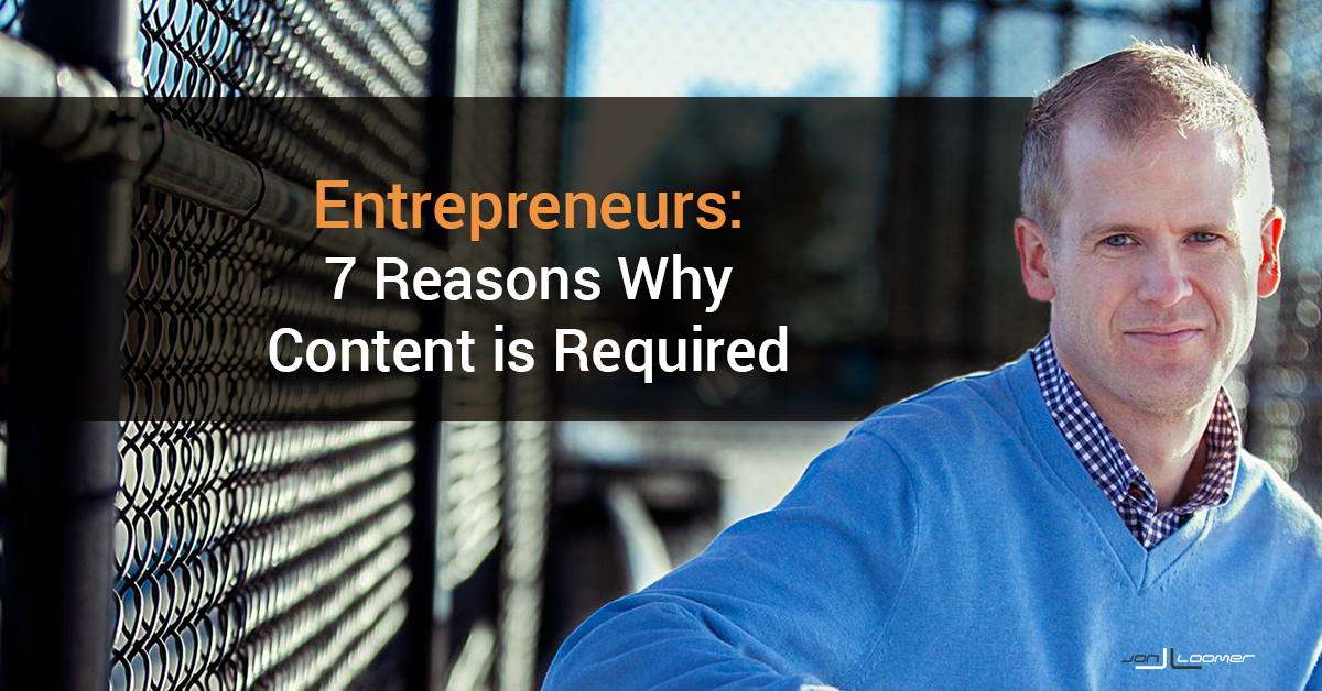 Entrepreneurs Content