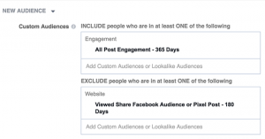 People Who Engaged With Any Facebook Page Post or Ad