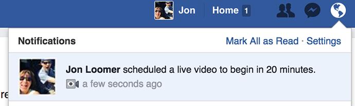 Wirecast Facebook Live
