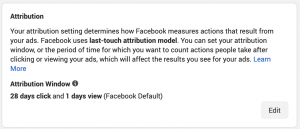 Facebook Ad Attribution