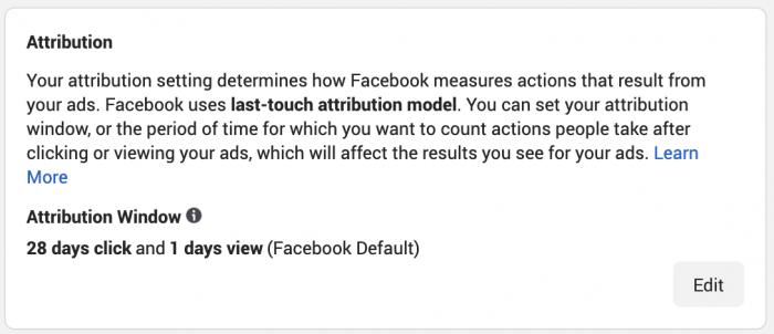 Facebook Ad Attribution