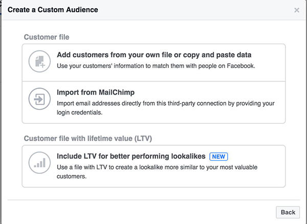 Value-Based Lookalike Audience Facebook