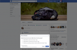 Facebook Removed Member Clean-up (TechCrunch)