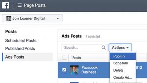 Facebook Ad Edit Link Preview