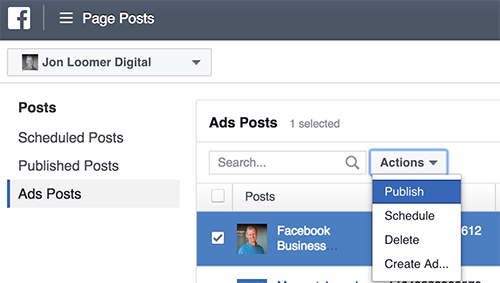 Facebook Ad Edit Link Preview