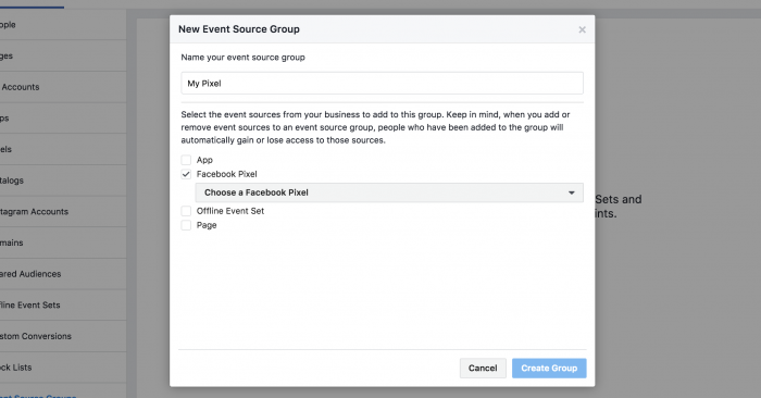 Event Source Group