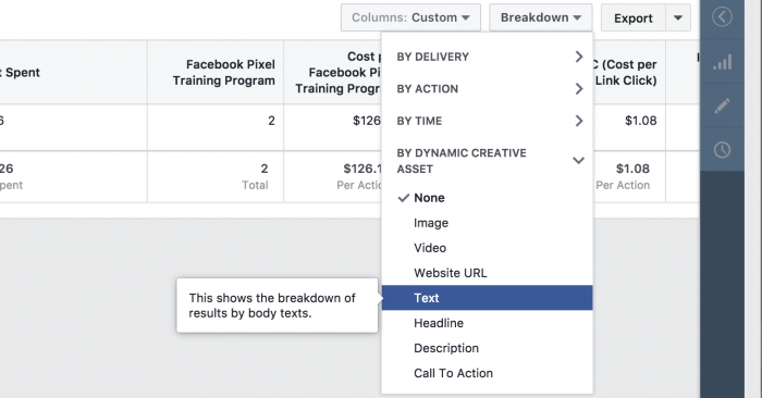 Facebook Ads Dynamic Language Optimization