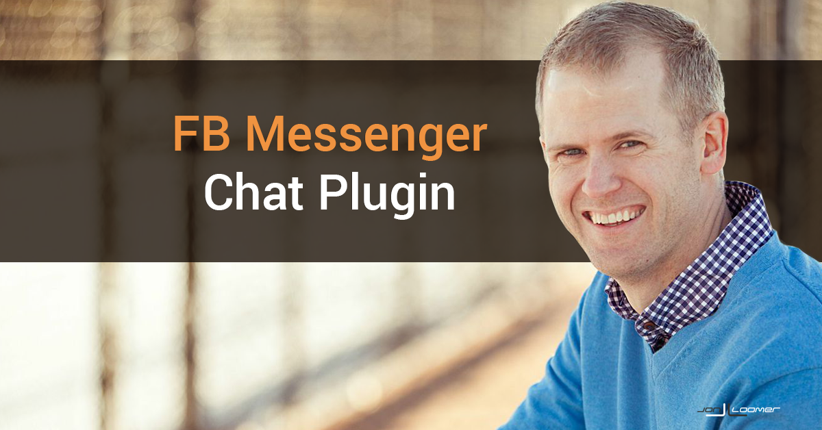 Facebook Messenger Customer Chat Plugin