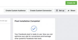 Facebook Pixel Set Up