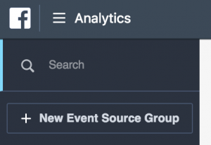 Facebook Analytics Event Source Group