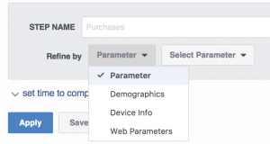Facebook Analytics Funnels