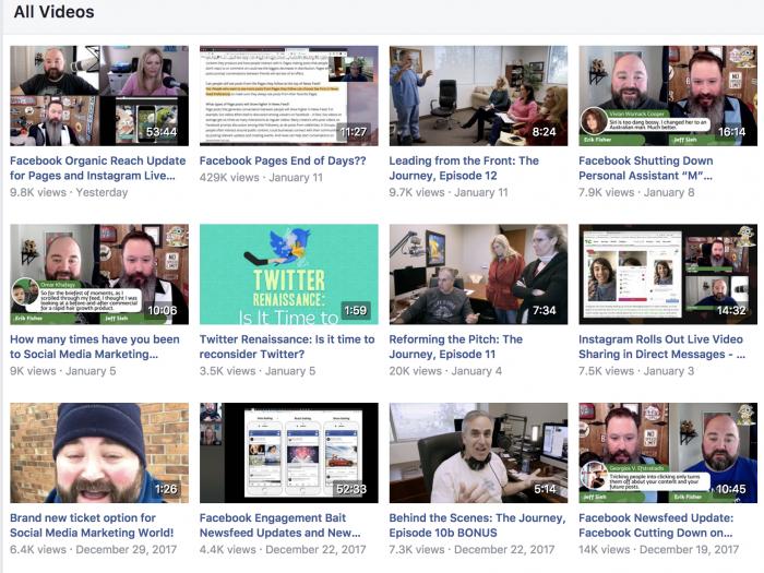 Social Media Examiner Facebook Live