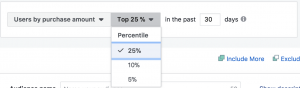 Facebook App Activity Custom Audiences