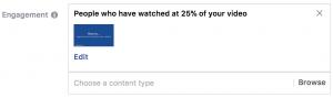 Facebook Video Views Custom Audiences