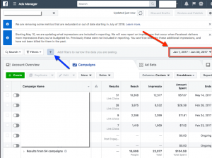 6 Month Filtered View - Facebook Paid Reach