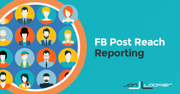 Facebook Post Reach: Post-Level Reporting