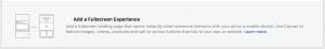 Facebook Ads Add a Fullscreen Experience