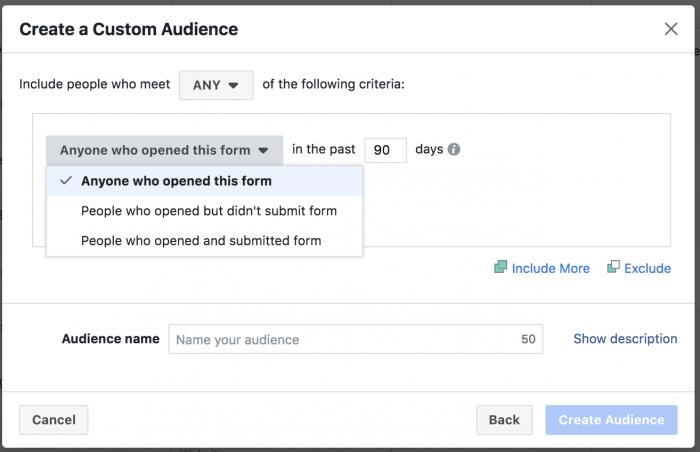 Engagement Custom Audience