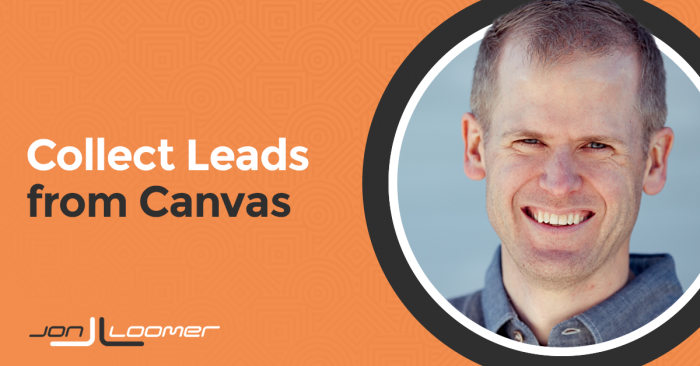 Collect Leads from a Facebook Canvas Contact Form (and Target Them)