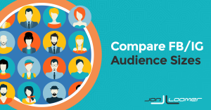 Compare Facebook Instagram Audience Sizes