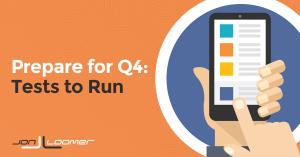 Facebook Ads Q4 Tests