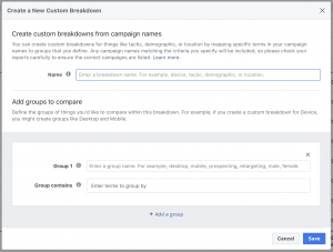 Facebook Attribution Tool