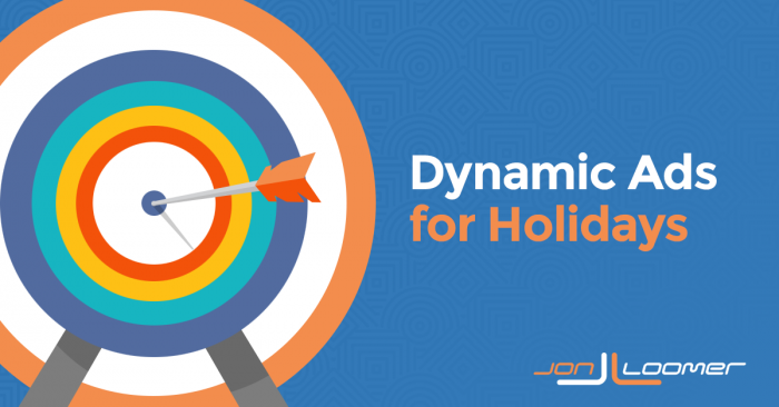 Dial In Your Facebook Dynamic Ads for the Holidays