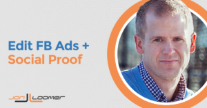 Edit Facebook Ads and Keep Social Proof