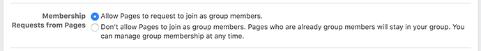 Facebook Group Membership Requests