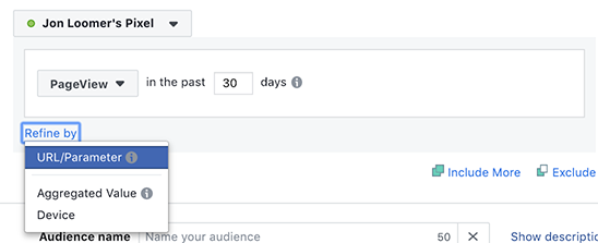 Facebook Website Custom Audience