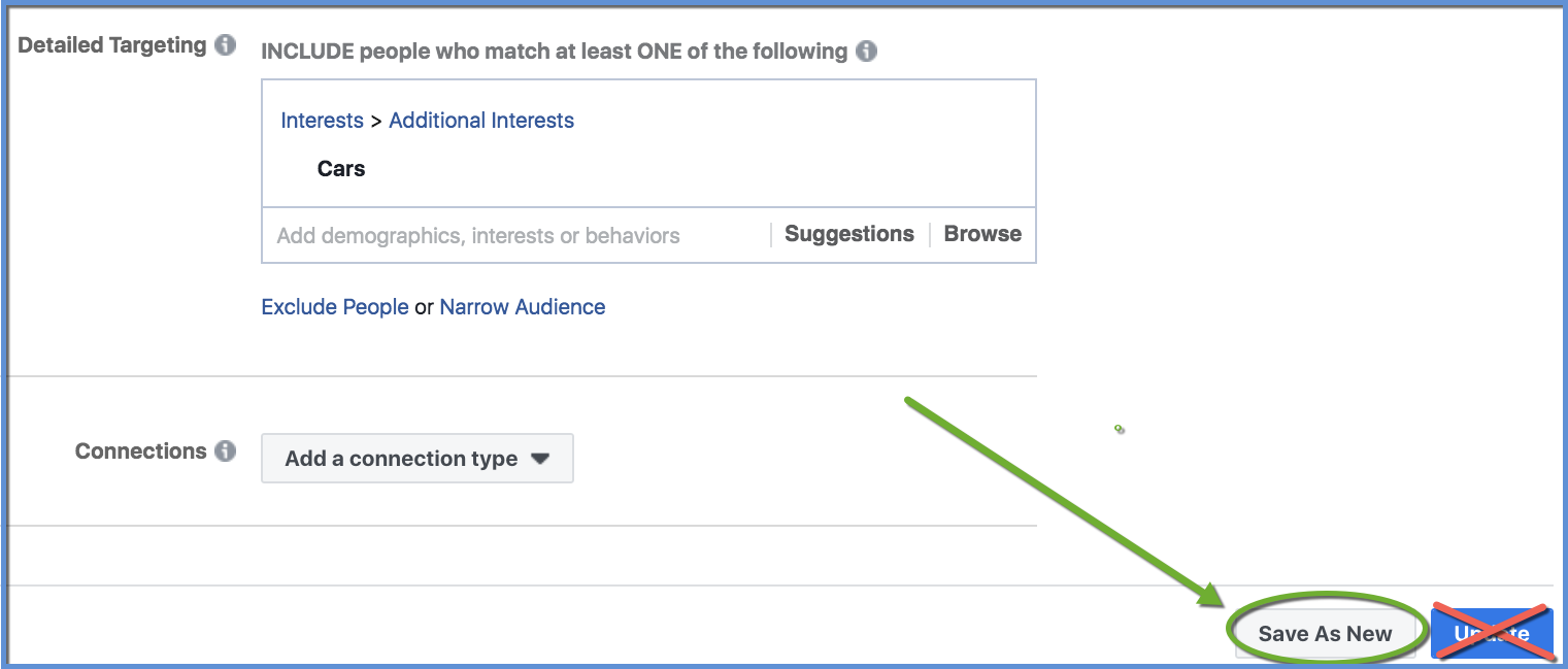 How To Duplicate A Saved Audience In Facebook Ads Manager