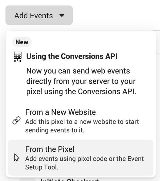 Facebook Pixel Event Setup Tool