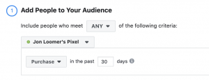 Facebook Website Custom Audiences Events