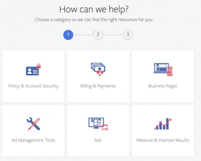 Facebook Help Center