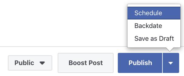 Facebook Creator Studio Create Post
