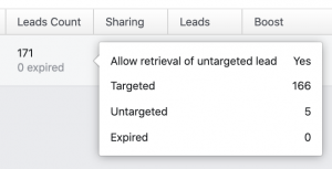 Facebook Targeted and Untargeted Leads