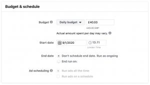 reach website remarketing budget allocation