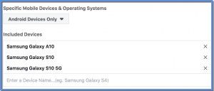 Samsung Multiple Devices Example
