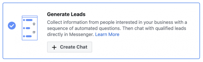 Facebook Ads Messenger