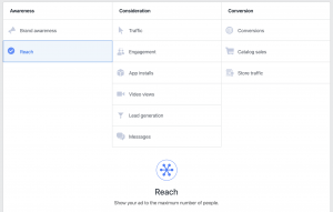 Facebook Ads Reach Objective