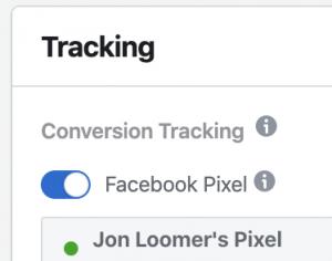 Facebook Ads Tracking Pixel