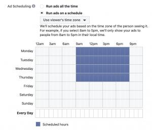 Facebook Ads Dayparting