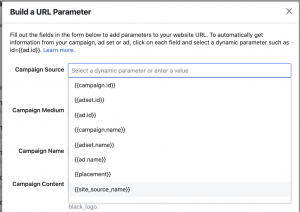 Facebook Dynamic URL Parameter