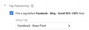 Facebook Pixel Event Scroll Depth