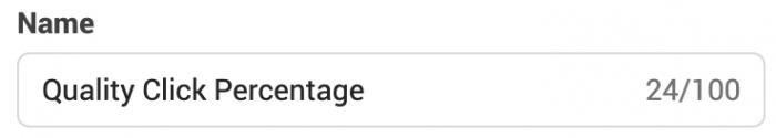 Facebook Ads Manager Custom Metrics