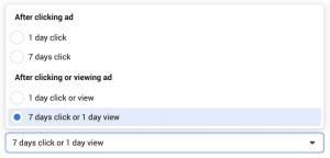 Facebook Ads Conversion Window