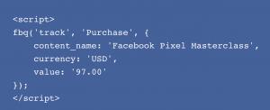 Facebook Pixel Event Code #2