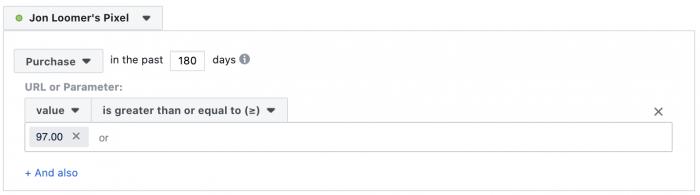 Facebook Website Custom Audience Pixel Event