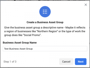 Facebook Business Asset Group
