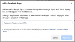 Facebook Business Manager Accounts